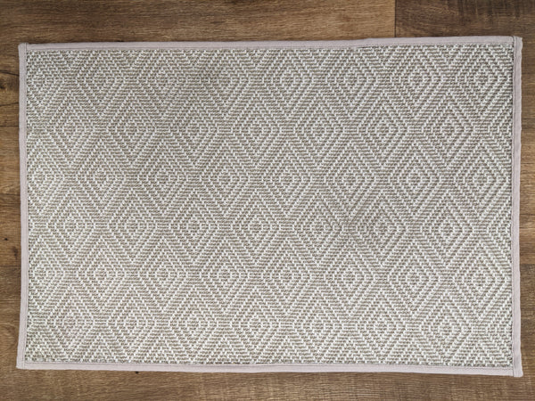 Prestige Mills Stair Runners Alec 25 Frost Ivory Stair Runners and Area Rugs By Prestige
