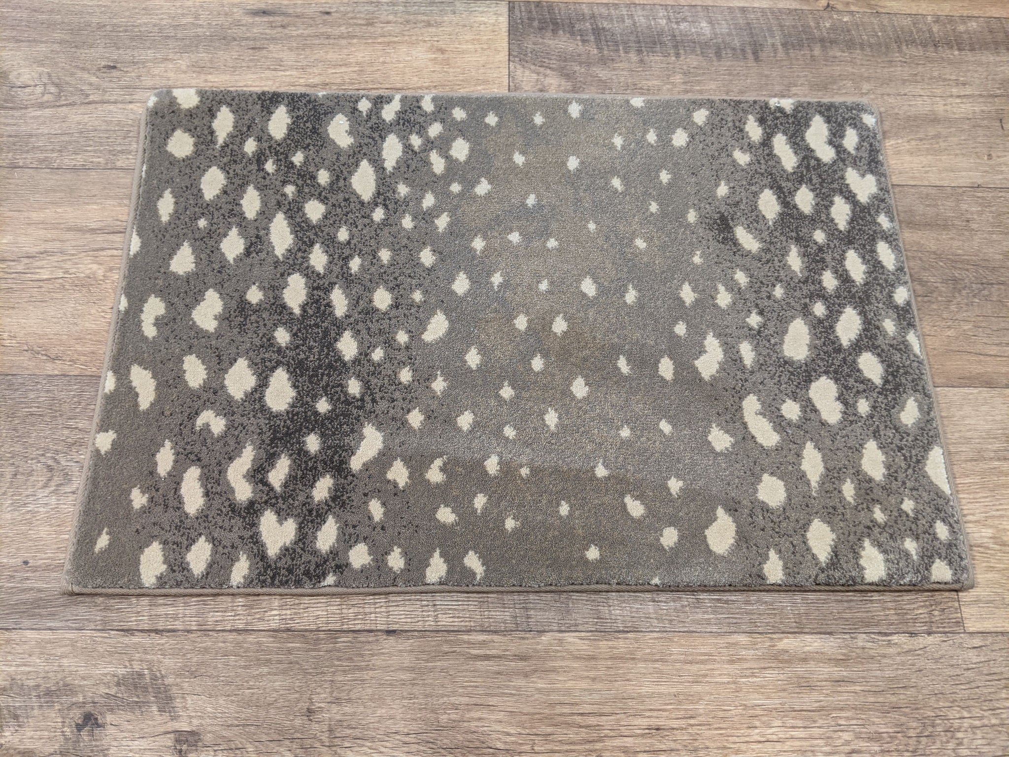 Prestige Mills Stair Runners Deerfield 72 Mushroom Animal Print By Prestige In Assorted Sizes