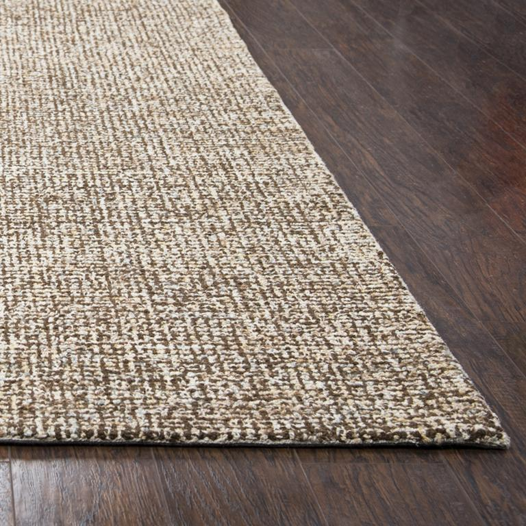 Rizzy Home Area Rugs Brindleton BR360A Brown Area Rug in 39 Unique Shapes and Sizes