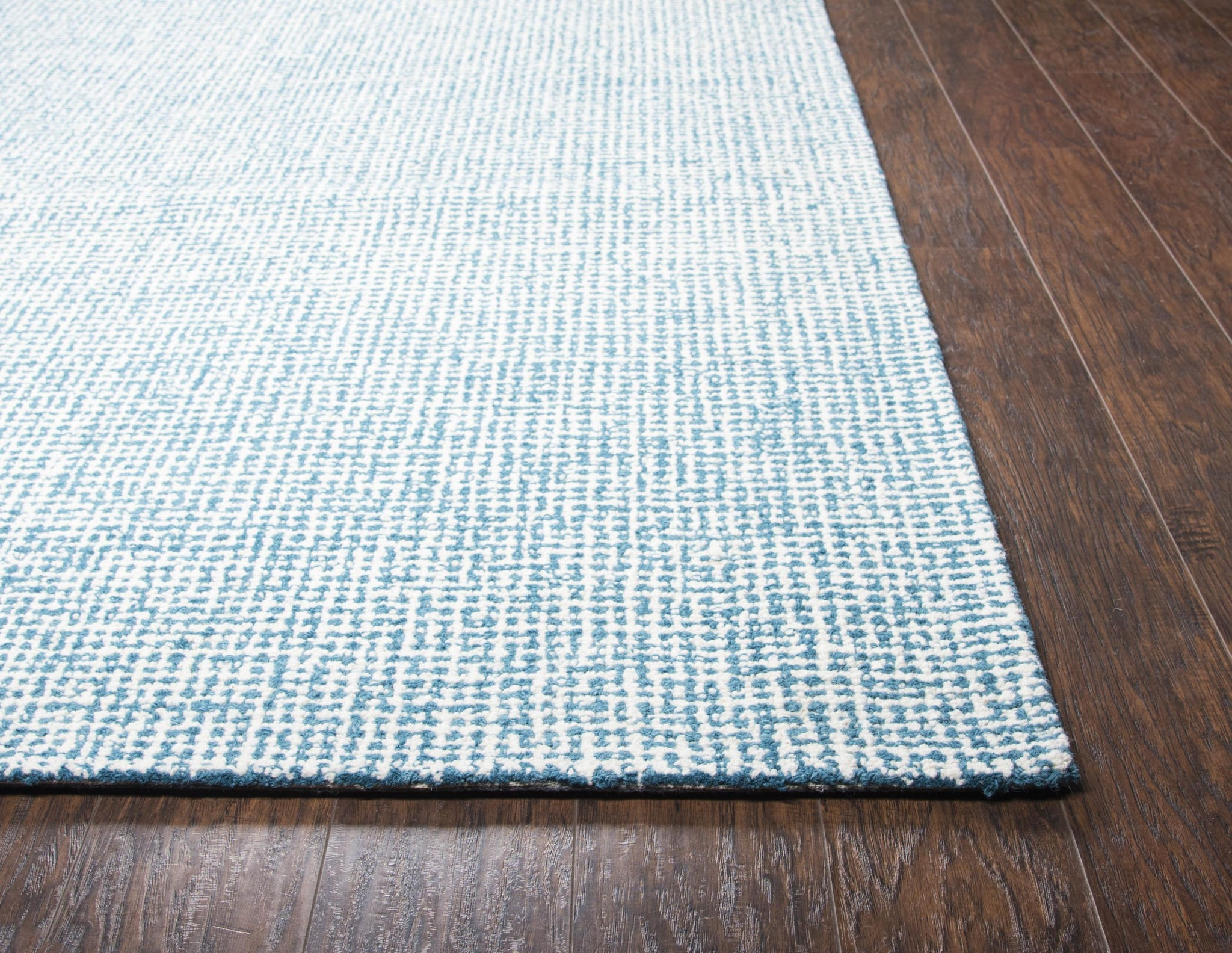 Rizzy Home Area Rugs Brindleton BR651A Teal Area Rug in 39 Unique Shapes and Sizes