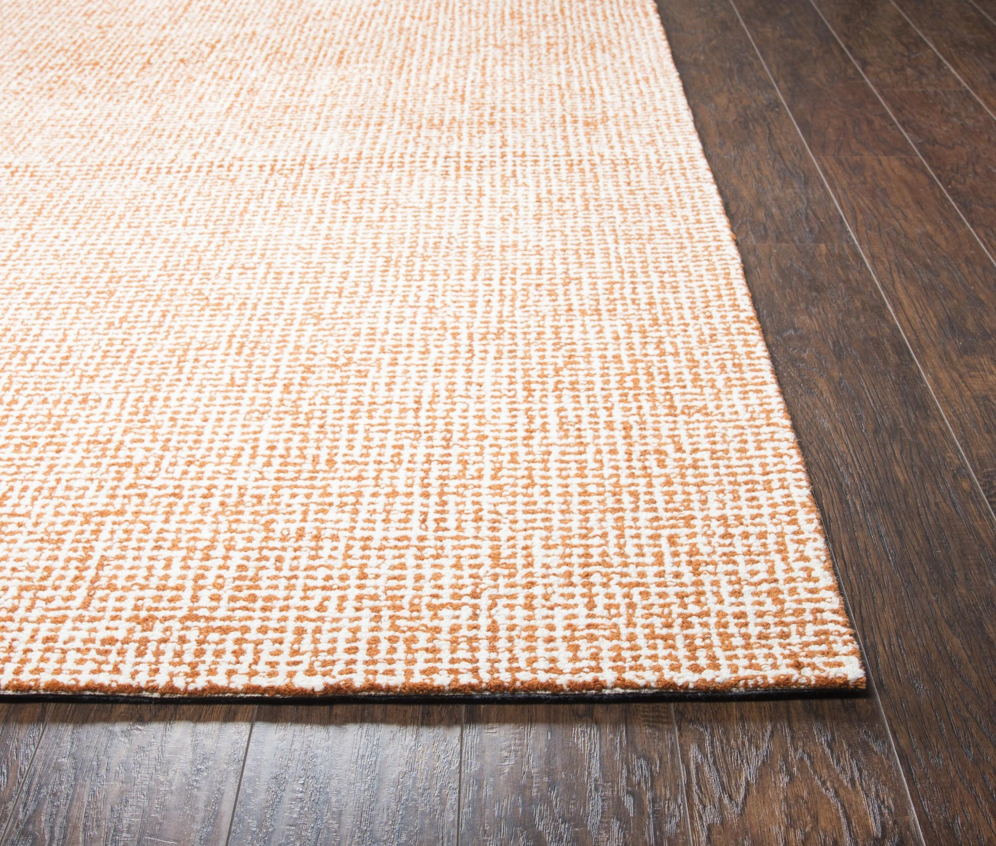 Rizzy Home Area Rugs Brindleton BR652A Orange Area Rug in 39 Unique Shapes and Sizes