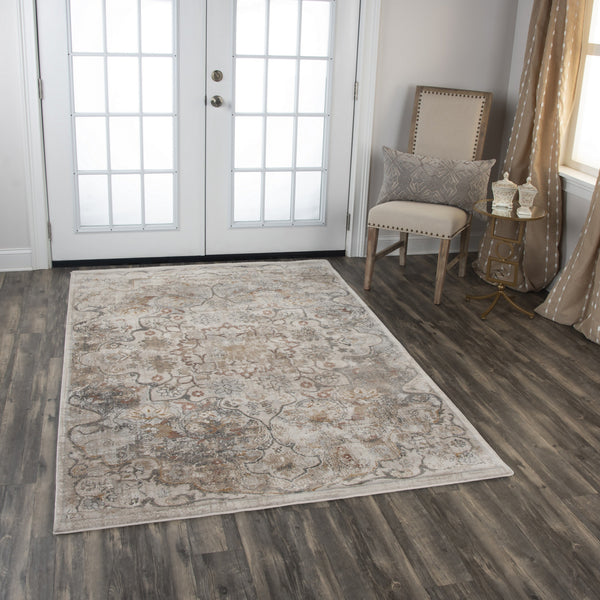 Rizzy Home Area Rugs Bristol Area Rugs BRS102 Beige-Copper Rizzy Home Turkey