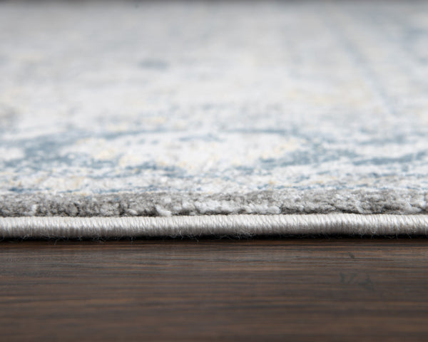 Rizzy Home Area Rugs Bristol Area Rugs BRS105 Beige-Blue Rizzy Home Turkey