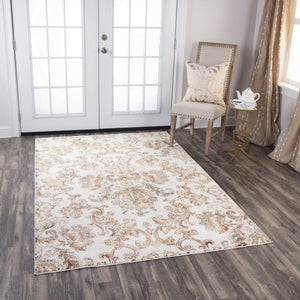 Rizzy Home Area Rugs Bristol Area Rugs BRS110 Beige-Copper Rizzy Home Turkey