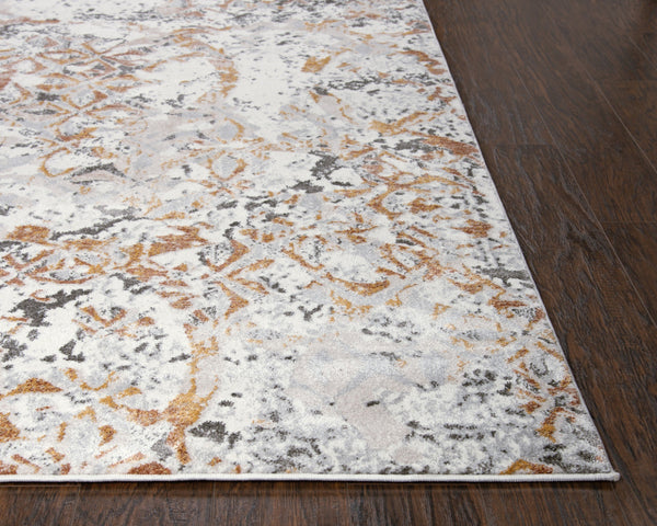 Rizzy Home Area Rugs Bristol Area Rugs BRS111 Beige-Copper Rizzy Home Turkey