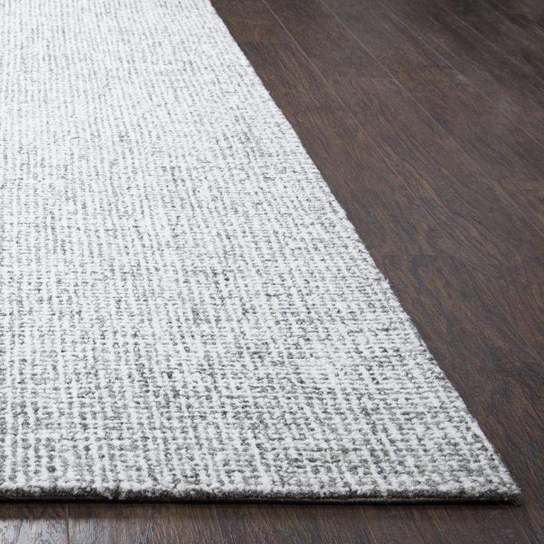 Rizzy Home Area Rugs Copy of Brindleton BR351A Grey Area Rug in 39 Unique Shapes and Sizes