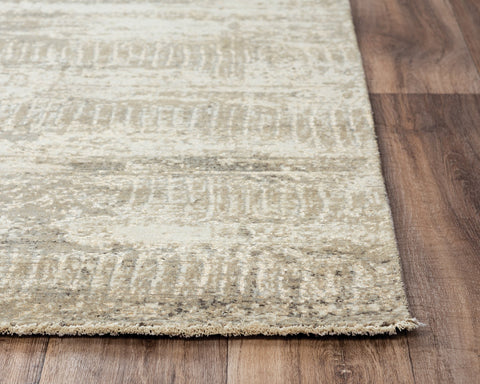 Rizzy Home Area Rugs Couture Area Rugs CUT101 Beige in 5 Sizes 80%Wool-20%Visc By RizzyHome