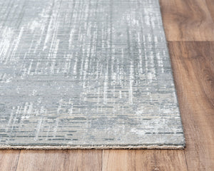Rizzy Home Area Rugs Couture Area Rugs CUT104 Grey in 5 Sizes 80%Wool-20%Visc By RizzyHome