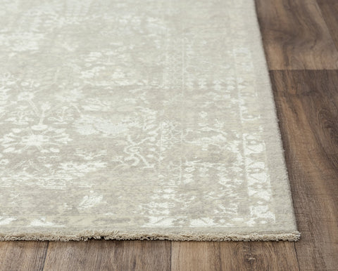 Rizzy Home Area Rugs Couture Area Rugs CUT106 Beige in 5 Sizes 100% Wool India By RizzyHome
