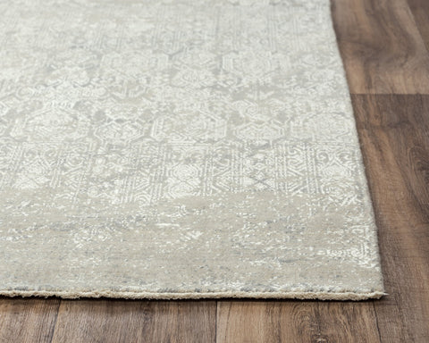 Rizzy Home Area Rugs Couture Area Rugs CUT107 Grey in 5 Sizes 80%Wool-20%Visc By RizzyHome