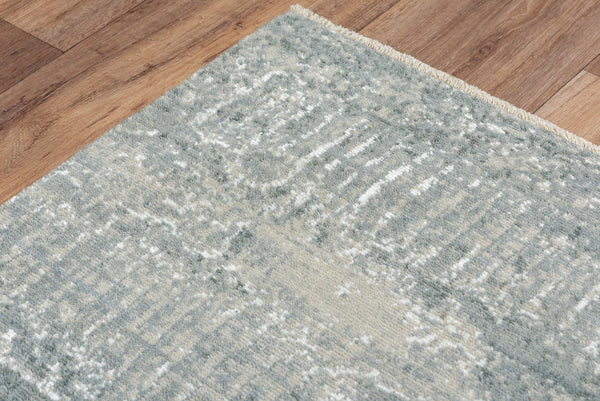 Rizzy Home Area Rugs Couture Area Rugs CUT108 Grey in 5 Sizes 80%Wool-20%Visc By RizzyHome