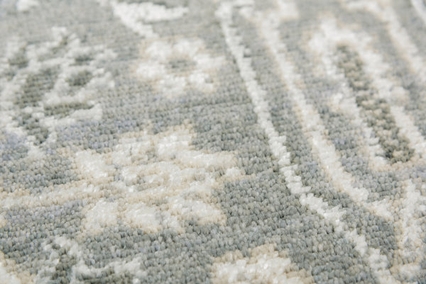 Rizzy Home Area Rugs Couture Area Rugs CUT110 Grey in 5 Sizes 100% Wool India By RizzyHome
