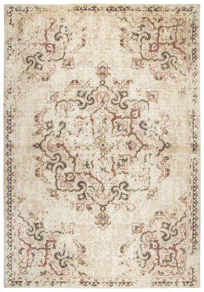 Rizzy Home Area Rugs Gossamer Area Rugs By RizzyHome GS6153 Beige 100% Wool From India
