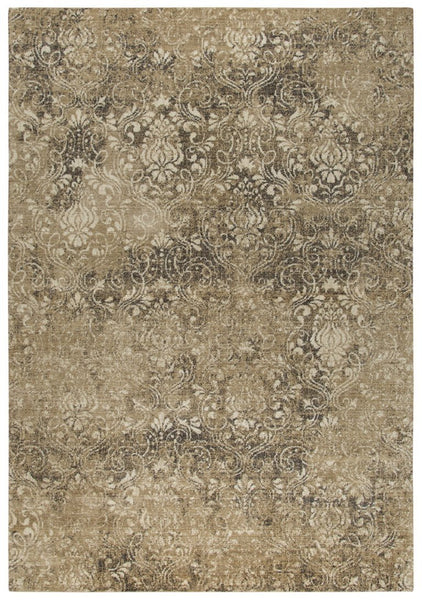 Rizzy Home Area Rugs Gossamer Area Rugs By RizzyHome GS6781 Ivory100% Wool From India