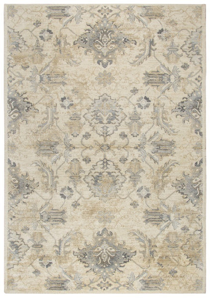 Rizzy Home Area Rugs Gossamer Area Rugs By RizzyHome GS7222 Beige100% Wool From India