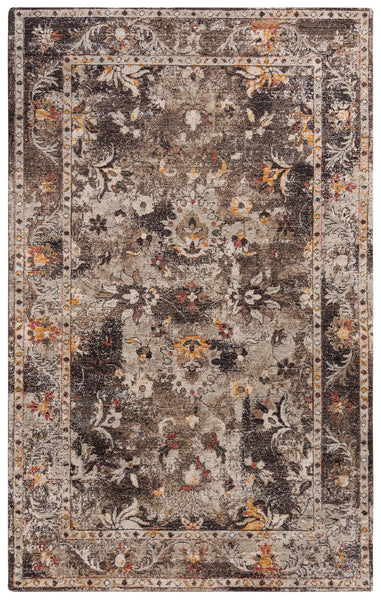 Rizzy Home Area Rugs Ovation Area Rug OVA-101 Brown in 5 Sizes 100% Wool