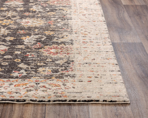 Rizzy Home Area Rugs Ovation Area Rug OVA-102 Brown in 5 Sizes 100% Wool