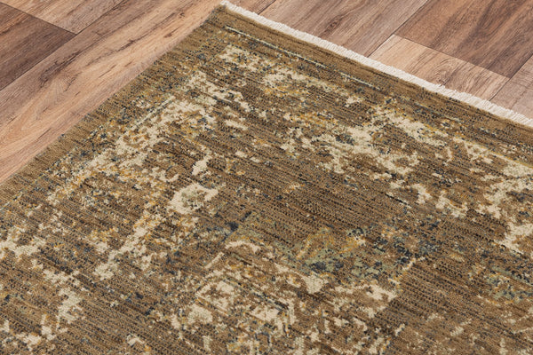 Rizzy Home Area Rugs Platinum Area Rugs PNM103 Brown By Rizzy Home Wool From India