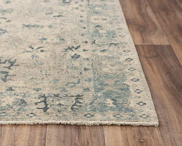 Rizzy Home Area Rugs Platinum Area Rugs PNM106 Beige By Rizzy Home Wool From India