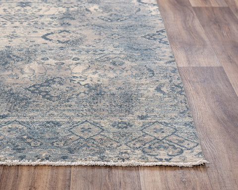 Rizzy Home Area Rugs Platinum Area Rugs PNM107 Grey By Rizzy Home Wool From India