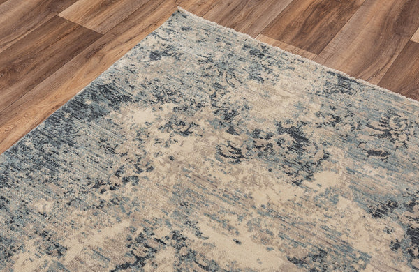 Rizzy Home Area Rugs Platinum Area Rugs PNM109 Beige By Rizzy Home Wool From India