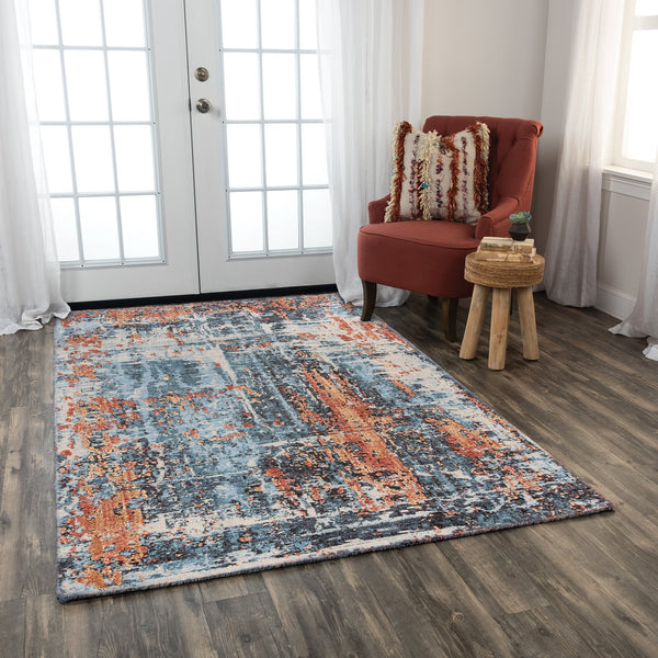Rizzy Home Area Rugs Premier Area Rugs PMR101 By Rizzy Home