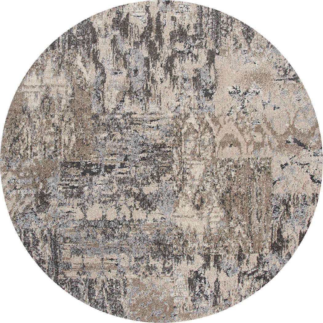 Rizzy Home Area Rugs Valencia Area Rugs VCA106 Grey In Custom Sizes At Affordable Prices