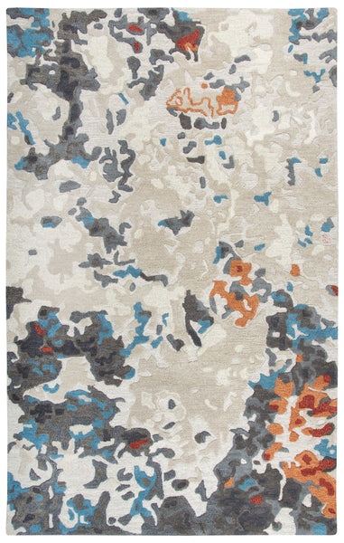 Rizzy Home Area Rugs Vogue Area Rugs  VOG104 Beige Wool Contemporary Design in 5 Sizes