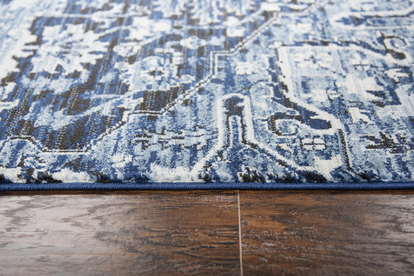 Rug Depot Home Area Rugs Paciano Area Rugs PC111 Blue By Rug Depot Home