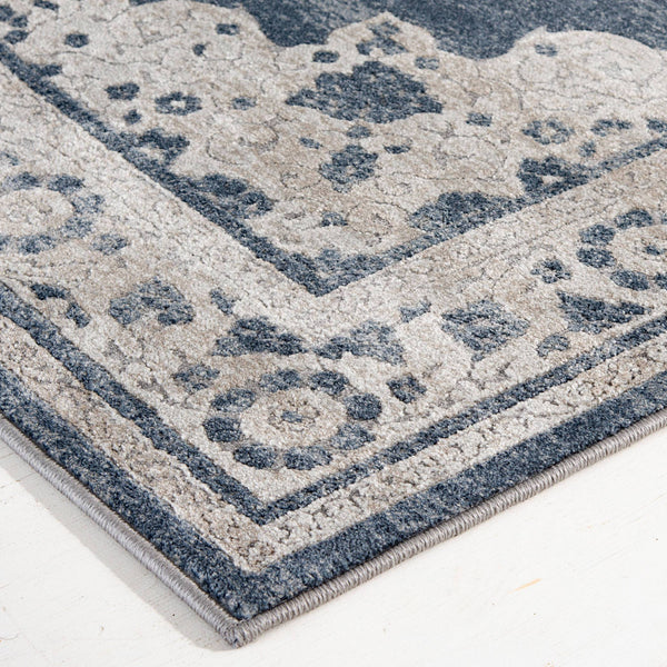 Rug Depot Home Area Rugs Traditions Area Rugs 2808NK Blue in 2 Sizes Made in USA