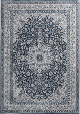 Rug Depot Home Area Rugs Traditions Area Rugs 2812IC Blue in 2 Sizes Made in USA