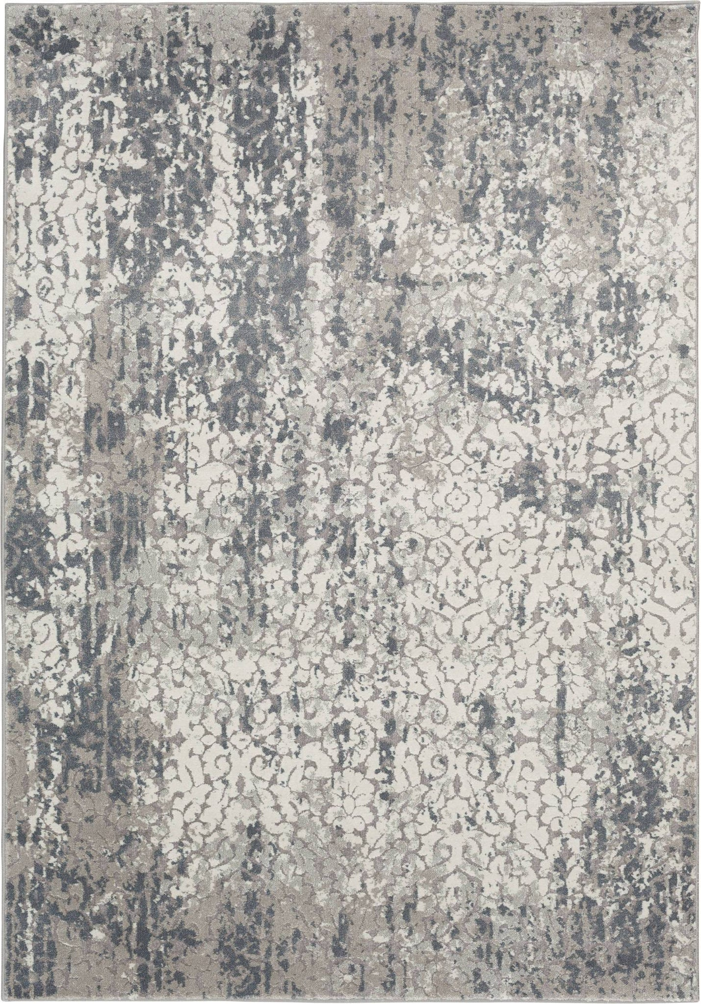 Rug Depot Home Area Rugs Traditions Area Rugs 2837YC Grey in 15 Sizes Made in USA