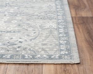 Rug Depot Home Couture Area Rugs CUT105 Grey in 5 Sizes 100% Wool India By RizzyHome