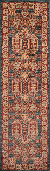 Rug Depot Home Ghazni Area Rugs GZ-01 Kazak Navy Poly Turkey