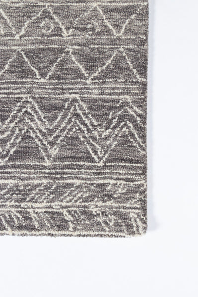 Rug Depot Home Mallorca Grey Area Rugs MRC-01 Grey 6 Sizes Hand Hooked Wool