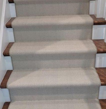 Peter Island Grey PTR-75 Custom Installation By Rug Depot Home