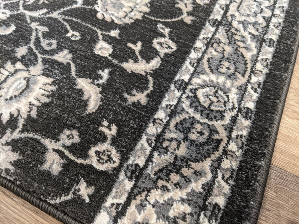 Rug Depot Home Stair Runners Provincia Charcoal Stair Runners and Stair Treads 2823 By Rug Depot