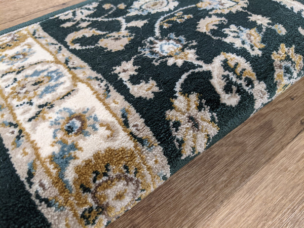 Rug Depot Home Stair Runners Provincia Green Stair Runners and Stair Treads 2815 By Rug Depot