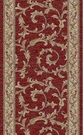 RunnerUSA Stair Runner Jewel Red Stair Runner 4390 26in 163134  Sold By the Foot