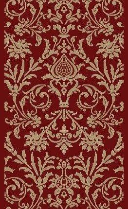 RunnerUSA Stair Runner Jewel Red Stair Runner 4940 26in 163151 Sold By the Foot