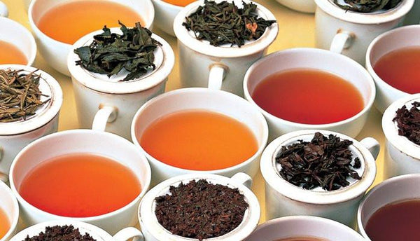 What are the tea grades for Black Tea and what do they mean?