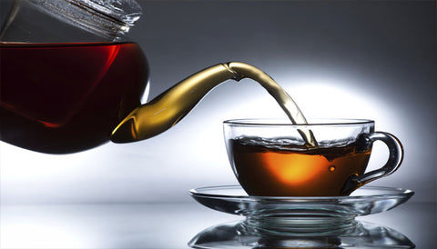 Black tea helping skin retain moisture