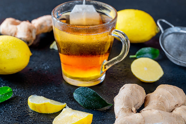 Try Lemon tea for relieving a stuffy nose