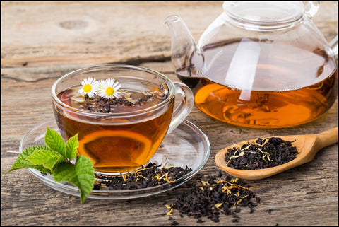 Black tea helping diabetes