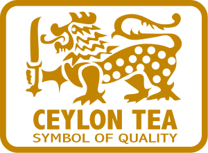 Ceylon tea logo certifies single-origin from Sri Lanka