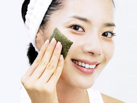 Green tea for skin complexion