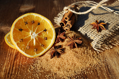 CINNAMON-STAR ANISE LEMON TEA