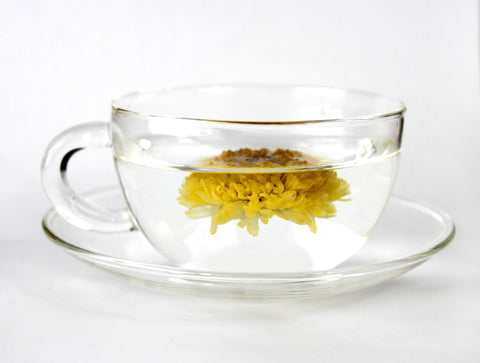 CHRYSANTHEMUMS LEMON TEA