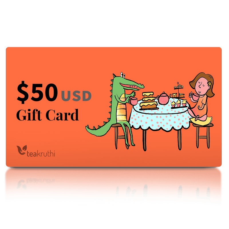 teakruthi gift card US$ 50