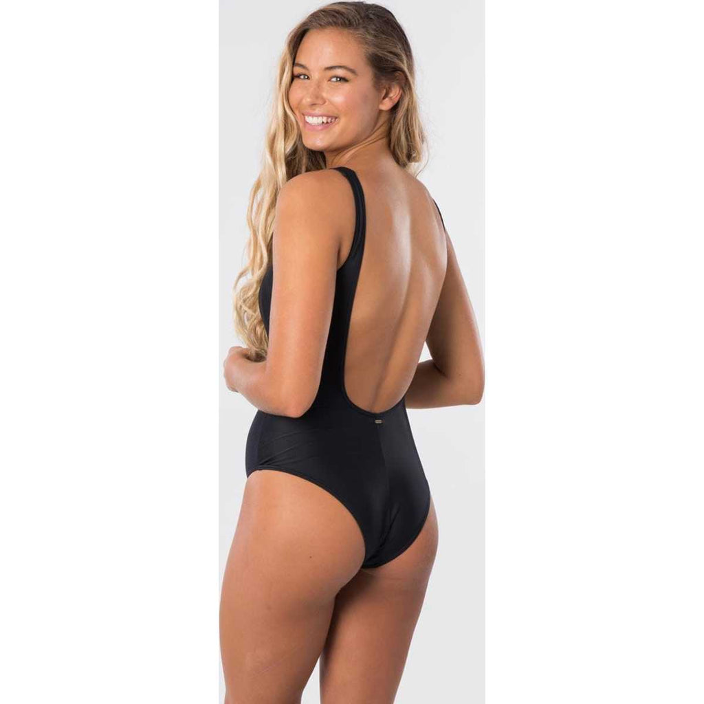 Classic Surf Eco One Piece in Black